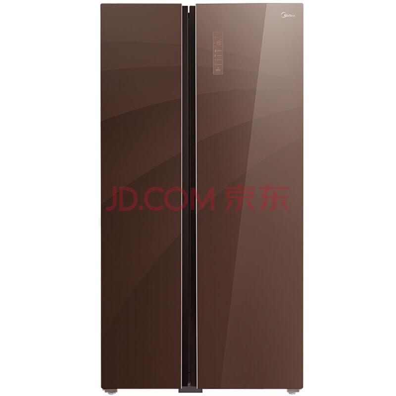 Midea 美的 BCD-539WKGPZM(E) 539升 智能双变频风冷对开门冰箱 5699元