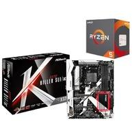 $259.99 AMD Ryzen 5 1600X处理器 + ASRock X370 Killer 主板套装
