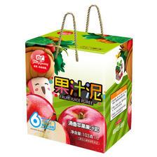 ¥28 方广 清香苹果果汁泥礼盒6袋装