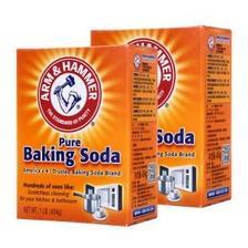 艾禾美 小苏打粉 454g*2盒装 清洁牙齿 除污去垢 果蔬清洁 美国进口 20.8元包