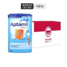 预售: Aptamil 爱他美 婴儿配方奶粉 1段 800g*4罐装 *4件 393.89元未税包邮(需70
