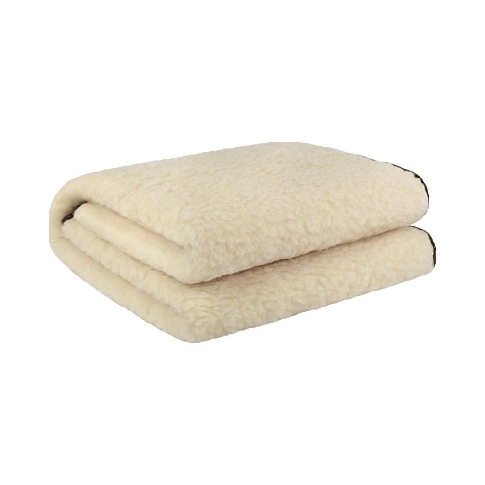 Solis瑞士进口 感温式双人纯羊毛安全可水洗电热毯家用