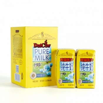 京东商城 荷兰乳牛 经典全脂纯牛奶200ml*6支9.9元(限时低价)