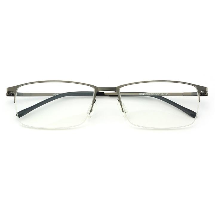 ¥69 HAN不锈钢光学眼镜架-枪灰色(HD49219-C3)