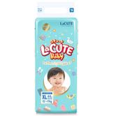 LaCUTE 乐可爱 婴儿纸尿裤 森林王子款 XL44片 *4件 185元包邮 折合46.25元/件