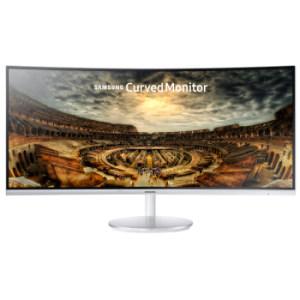 三星(SAMSUNG)34英寸 1500R大曲率 100Hz量子点高分辨率曲面 电脑显示器 C346499元