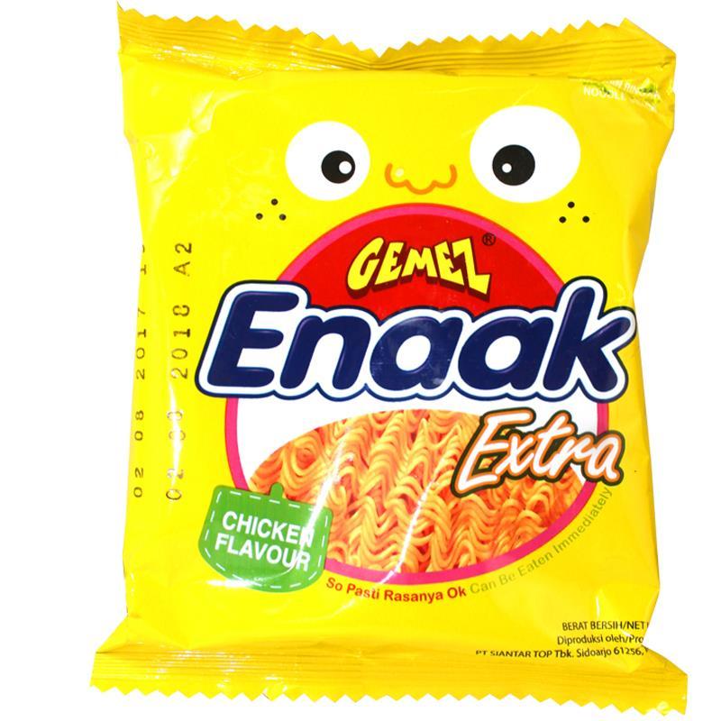 回味无穷# 网红零食 印尼进口小鸡干脆面12包 20.9元包邮35.9-15券)