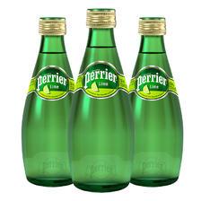2017黑五预热: perrier 巴黎水 气泡矿泉水 青柠味 330ml*24瓶 89元含税包邮(10