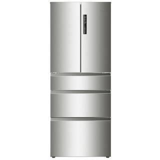 海尔(Haier) BCD-455WDSS 455升 变频风冷无霜多门冰箱 304不锈钢 除菌保鲜4299元