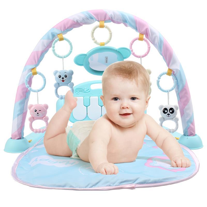 高清音质# 怀乐 婴儿脚踏钢琴音乐健身架 包邮59.9-10券49.9元