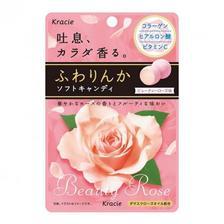日本OL最喜爱的小零嘴!Kracie 嘉娜宝 玫瑰芳香香体丸 32g×10袋 日淘 7.9折 JPY