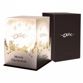 情人节礼物:德芙 星空灯圣诞限量版礼盒301g