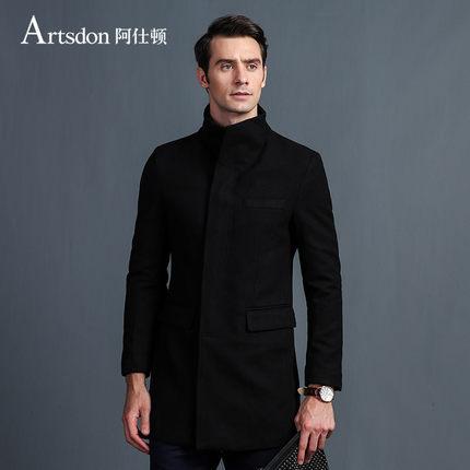 Artsdon 阿仕顿 男士中长款 羊毛混纺大衣 ¥109