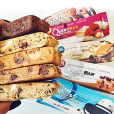 激发能量!Quest乳清蛋白棒 草莓芝士蛋糕味720g/盒 199元包邮