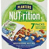 $5.98 免邮 Planters 营养健康坚果混合包 7.5oz 7包