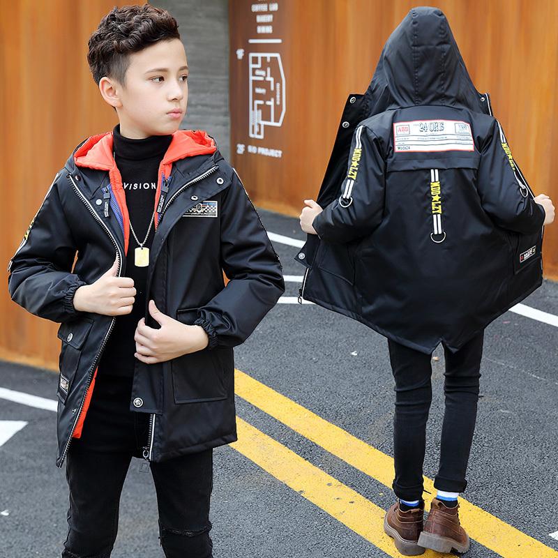 ¥99 雪中飞2017新款男童冬季童装外套冲锋衣中大童可拆内胆防水登山服