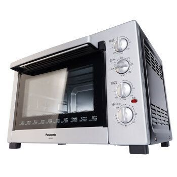 松下(Panasonic) NB-H3800 38L 电烤箱 (镀铝板/M管/热风/烤叉)