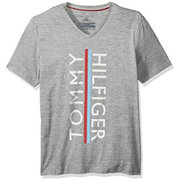 休闲大方!Tommy Hilfiger 男士V领T恤 $14.17(到手约¥142)'