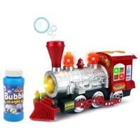 $14.95 销量冠军 Velocity Toys Steam Train 会吹泡泡的火车