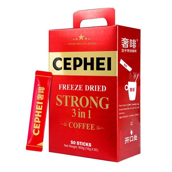 CEPHEI 奢斐 高端冻干特浓速溶咖啡粉 800g 39.99元包邮