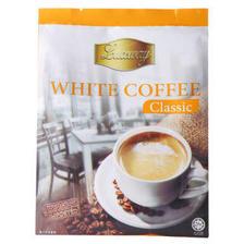 马来西亚进口 乐卡斯(Luxway) 经典白咖啡风味固体饮料 300g(25g*12包) 9.9