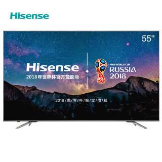 海信(Hisense) LED55EC750US 55英寸 4K 液晶电视3799元