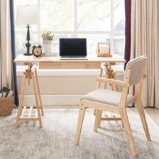 国美 夏树 可升降实木书桌(1.2米单桌)699元包邮