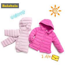 0点预售: Balabala 巴拉巴拉 女童无缝羽绒服 139元包邮(40元定金,0-2点内)