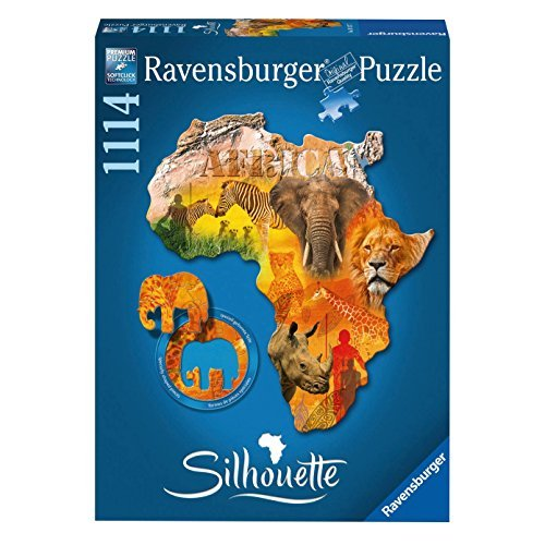 睿思(Ravensburger) 非洲世界 异形拼图 1114片 R161577 89元包邮(需用码)