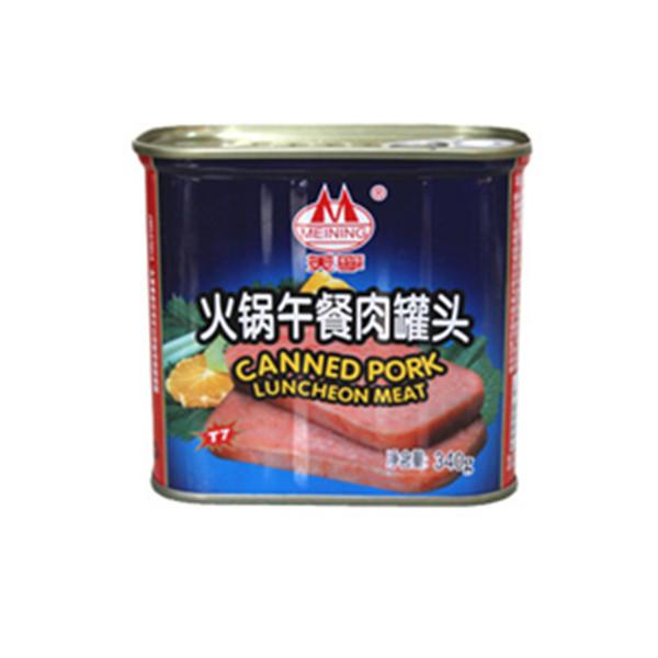 军工肉制品!美宁火锅午餐肉罐头340g3 包邮(需用券)24元