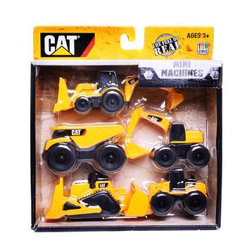 CAT 卡特 沙滩系列 工程车套装(五只装)34601 35元