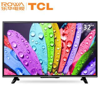 乐华(ROWA) 32S560 32英寸 人工智能平板液晶电视机彩电 语音遥控25核处理器988元