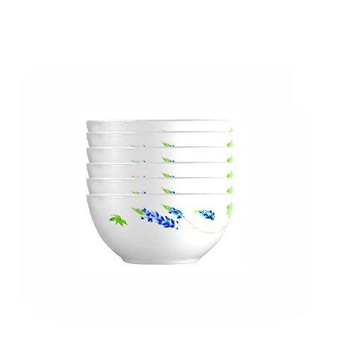 乐美雅(Luminarc) 薰衣草小饭碗甜点碗6只装 55元