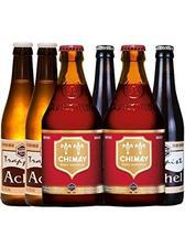 精酿啤酒组合6瓶装 比利时进口 口味组合可选 (红帽2瓶+阿诗黑2瓶+阿诗金2瓶