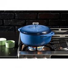 Lodge 洛极 Color EC4D33 加勒比蓝铸铁锅 约4升 亚马逊海外购 5.1折 直邮中国 ¥34