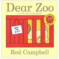 Dear Zoo亲爱的动物园硬页翻翻书