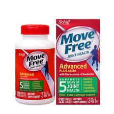 Schiff Move Free 维骨力 Move Free 氨基葡萄糖软骨素 绿盒120粒*2瓶 关节养护 ¥198