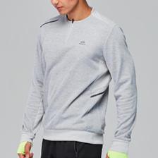 天猫 DECATHLON迪卡侬 男款运动长袖抓绒衫59.9元包邮(薄绒反光设计)