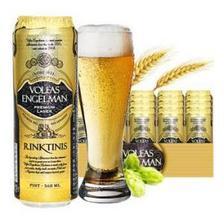 立陶宛进口 沃夫狼经典啤酒568ml*24听整箱装 *2件 139元(合69.5元/件)