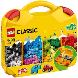 乐高 玩具 经典创意 Classic 4岁-99岁 创意手提箱 10713 积木LEGO *3件 357元(合119元/件)