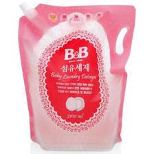 需用券 保宁 B&B 婴幼儿服装洗衣液 袋装2100ml *2件 65.62元(需用券,合32.81元/