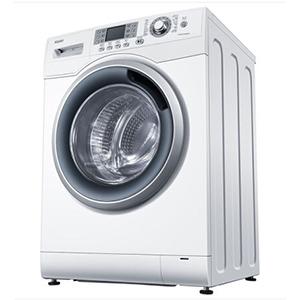 Haier 海尔 EG8012HB86W 洗烘一体变频滚筒洗衣机 8公斤 包邮2399元