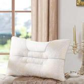 百丽丝家纺 水星出品 成人透气纤维枕芯 决明子舒适枕 白色 39元