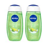 NIVEA妮维雅 柠檬草和精油型沐浴露 250毫升 2瓶装 63元 折合31.5元/瓶