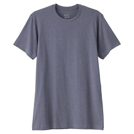 白菜价!无印良品棉混天竺凉爽圆领短袖T恤66SA412 49元