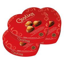 爱意满分!吉利莲松露榛子巧克力情人节心型礼盒105克/盒*3 活动好价129元包