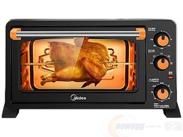 Midea 美的 MG25NF-AD 电烤箱 25升198元