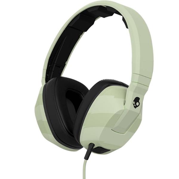 高品质!Skullcandy Crusher 头戴式可折叠耳机 夜光绿 532.72元包邮(需用券)