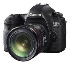 ¥9878 入门级!Canon 佳能 EOS 6D 单反套机(EF 24-70mm f/4L IS USM 镜头)