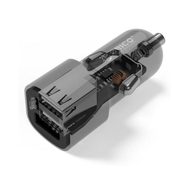 白菜价!奥睿科UCL-2U USB车载充电器 9.9元